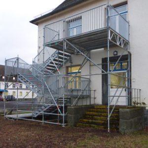 Fluchttreppentürme Depot Gießen
