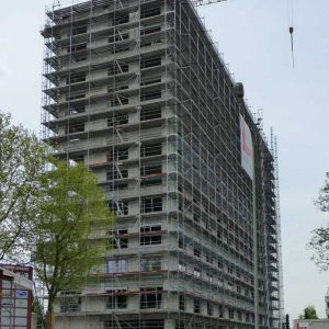 Fassadengerüst W09 Lyoner Straße 30 in Frankfurt