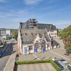 Einrüstung Goetheplatz 4 in Friedberg