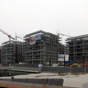 Fassadengerüst W09 Hafeninsel 12-28 in Offenbach