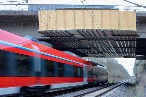 Brückensanierungsarbeiten A480 Gießen Nord UF K25+DB+Lahn in Gießen