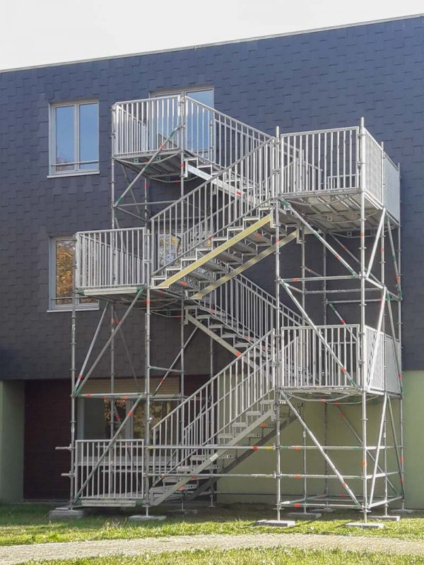 Fluchttreppenturm Am Freibad 15 in Biedenkopf