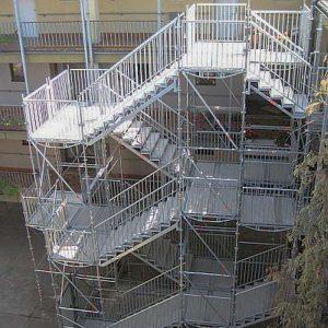 Fluchttreppenturm Domplatz 1 in Wetzlar