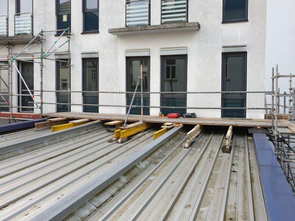 Gerüst- und Aufzugs-Konstruktionen Kerckhoff-Klinik in Bad Nauheim
