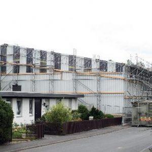 Luftdichte Schutzbauhalle Rüstungsstandort in Stadtallendorf