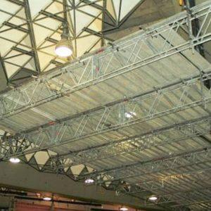 Spezial-Hängegerüsten Terminal 1 am Flughafen-Frankfurt